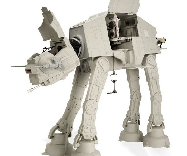 2-Foot Tall at-at is the Coolest Star Wars Toy Ever