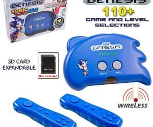 Atgames Sonic the Hedgehog Motion-Controlled Mini Sega Genesis Console, Say What?