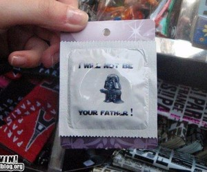 Darth Vader Condoms Get Proper English Translation