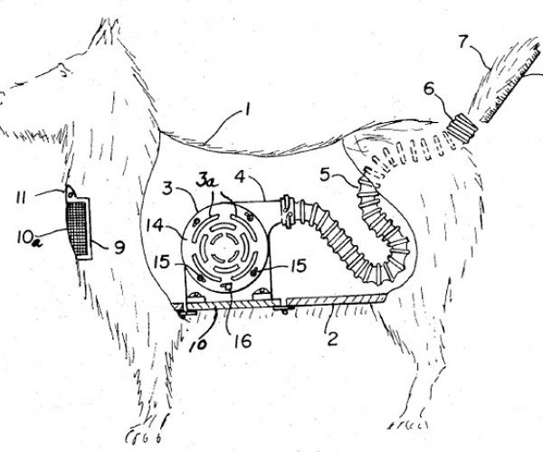 The Greatest Dog-Shaped Vacuum Cleaner Ever