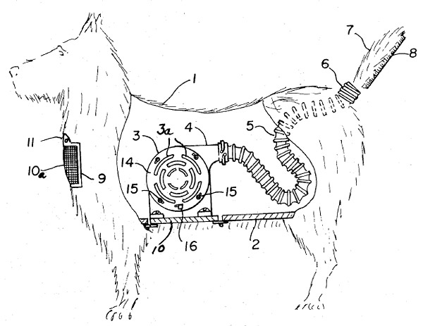 dog_shaped_vacuum_cleaner_patent_1
