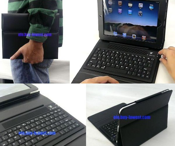EFO iPad Keyboard Case Turns iPad Into Netbook on the Cheap