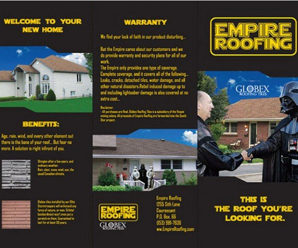 Empire Roofing: the Shingles Strike Back