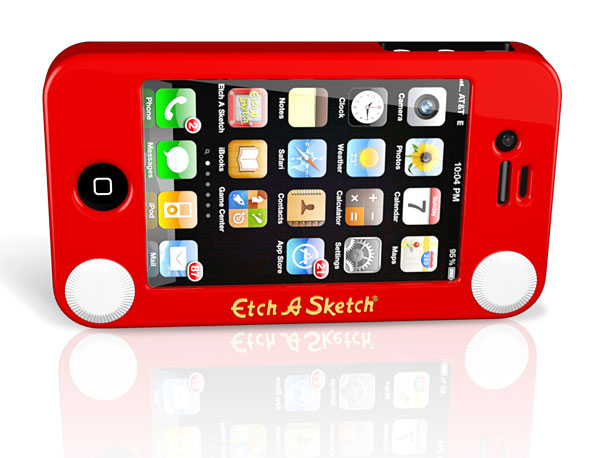 Etch a Sketch iPhone Case Still Won'T Help You Draw Curves ...