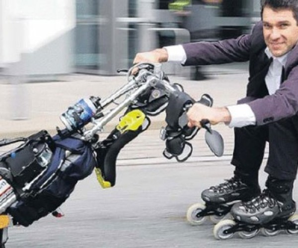 Flyrad is the Love Child of Segway and a Unicycle
