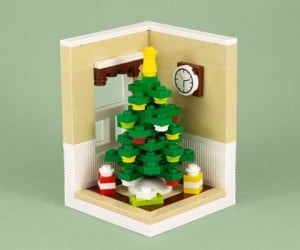 LEGO Christmas Tree is Perfect for Blockheads
