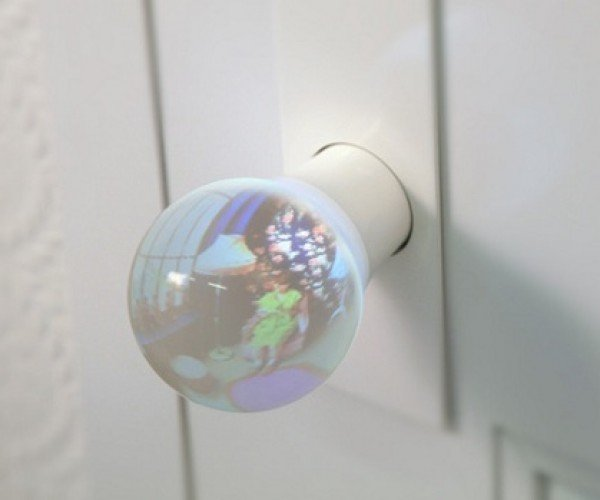 Glass Doorknobs Let You See What'S on the Other Side