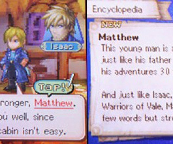Golden Sun: Dark Dawn Features Hyperlinked Dialogues: the Internet Must be So Proud