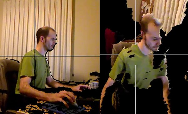 hack kinect 3d image capture