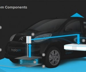 Haloipt Shows Off Tech That Can Charge Electric Cars Without Wires