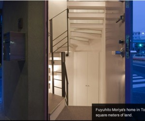 Tiny Tokyo House is Built in a Parking Space