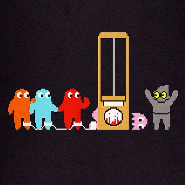 how they died pacman ghosts