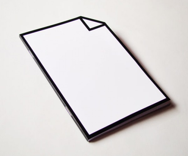 Icon Notepad Highlights the Duality of Note Taking