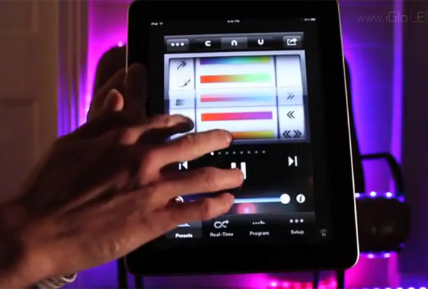 igloledset_ipad_led_light_controller