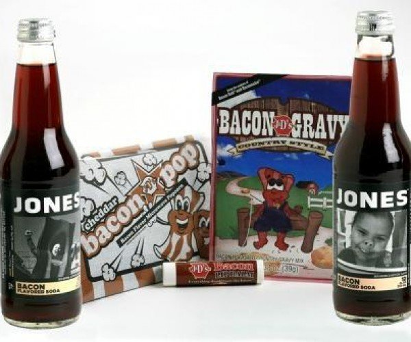 Jones Offers Bacon Soda in a Special Holiday Pack