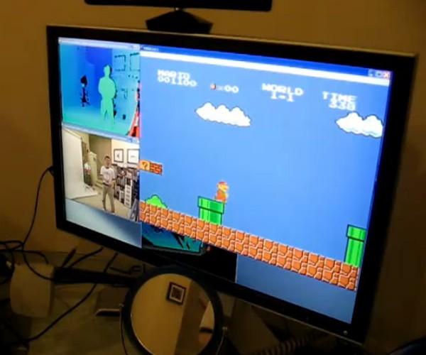 Kinect Nintendo Controller Hack – Kinectendo!