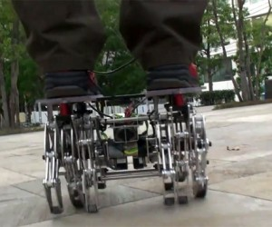 Landcrawler Robot Wobbles but it Won't Fall Down