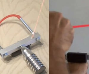 DIY Laser-Guided Slingshot