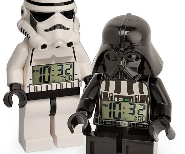 Thinkgeek Lands LEGO Minifig Star Wars Alarm Clocks