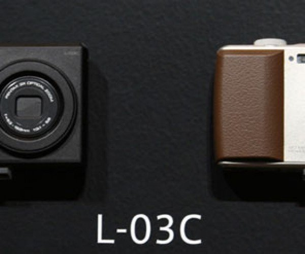 LG L-03c is a Real Camera Phone