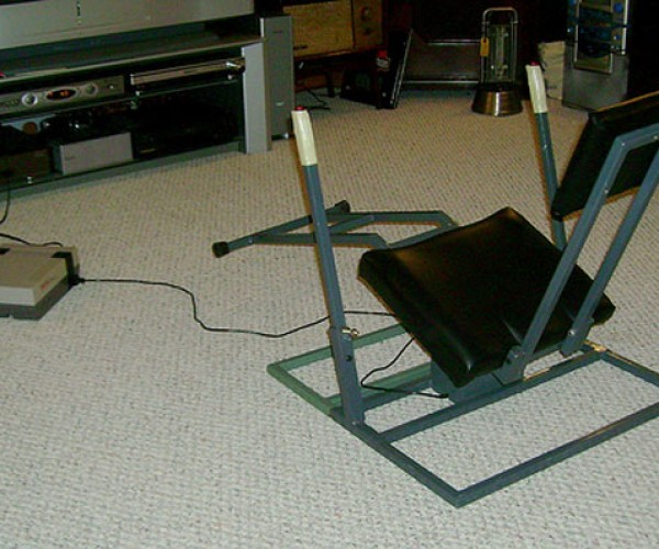 NES Controller Chair Also Good for Ab Workouts