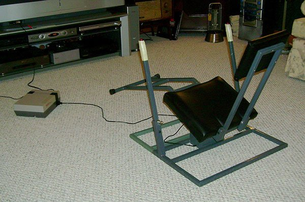 nes controller chair