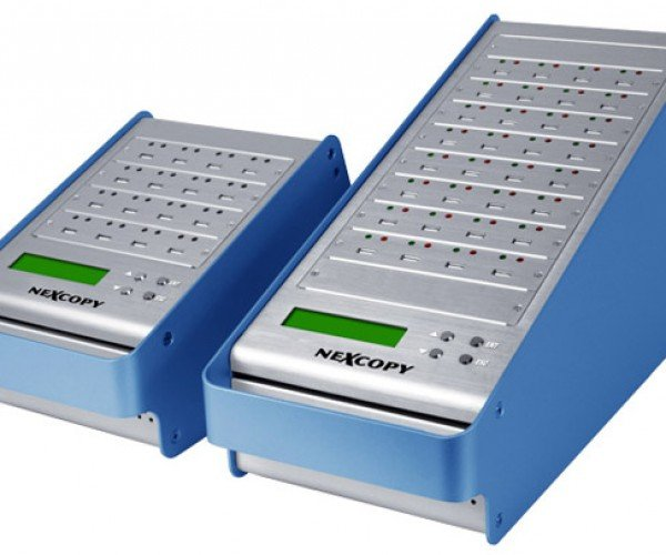 Nexcopy Standalone USB Duplicators Let You Copy Up to 31 Flash Drives at Once