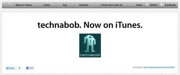 now on itunes