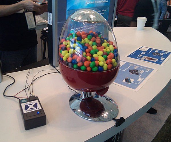 Paypal Vending Machine: the Faster, Safer Way to Buy a Gumball