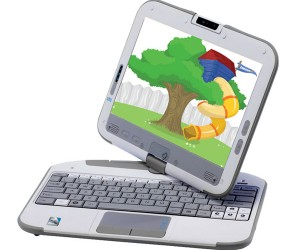 Peewee Outs Pivot 2.0 Convertible Netbook for Kids