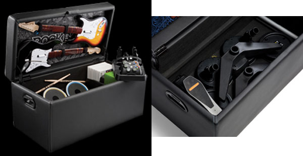 Levelup With Rock Band Storage Ottoman