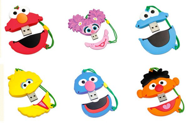 sesame street usb video drives