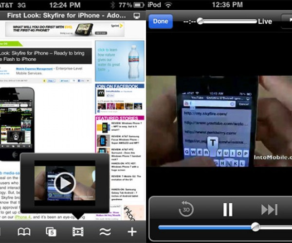 Skyfire Browser for iPhone Lets You View Flash Videos