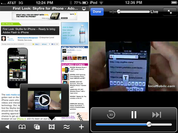 skyfire flash browser iphone