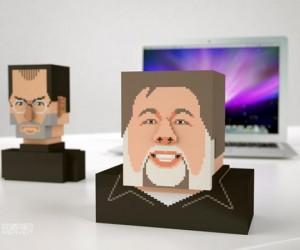 Iwoz: Steve Wozniak Pixel Bust