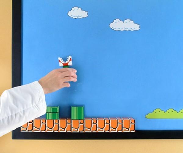super mario cubeecraft diorama 4