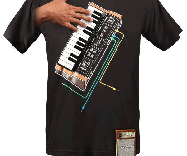 Thinkgeek Synthesizer Shirt: if Keyboard Cat Wore Shirts He'D have One