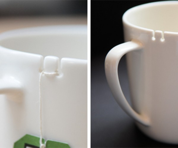 Tea Tie Cup Keeps Your Teabag Securely in Place
