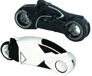 TRON Lightcycle Flash Drives: Download Some Programs From the Encom Mainframe