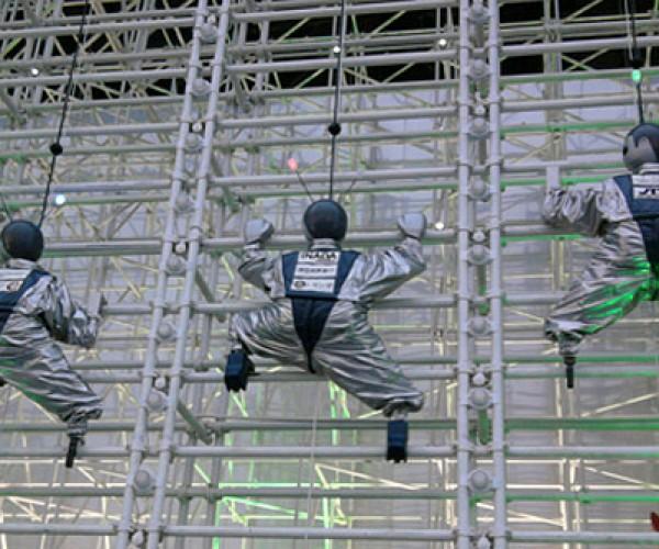 Wall-Climbing Robots: Real Life Crazy Climbers