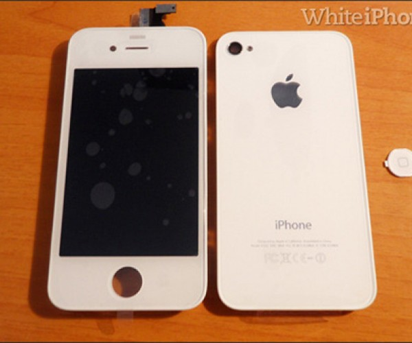 White iPhone 4 Kit Converts Vanilla iPhone to White, Seller From Genius to Criminal?