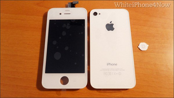 white iphone 4 now kit