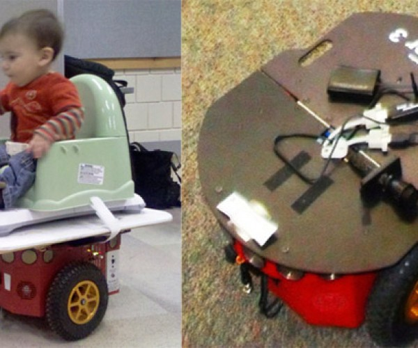 Wii Balance Board Used in Segway-Like Ride for Babies