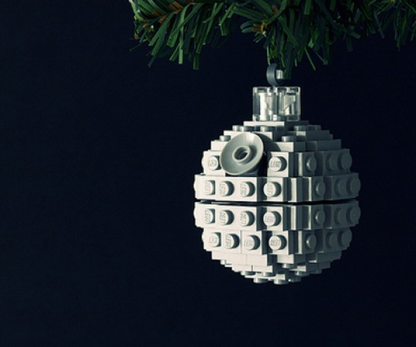Build a LEGO Death Star Ornament for Your Christmas Tree: Aw, Itty, Bitty, Superweapon of Doom!