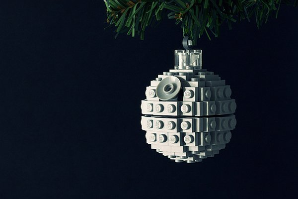 lego death star christmas ornament wars