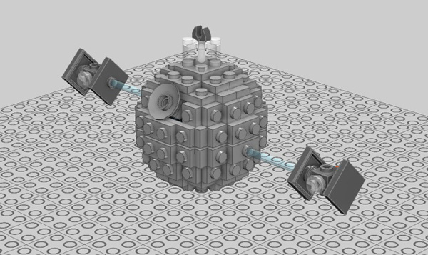 Build A Lego Death Star Ornament For Your Christmas Tree