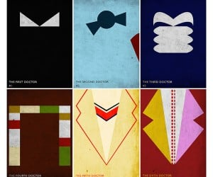 Minimal Doctor Who Posters: Who Are You?