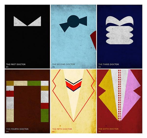 doctor who minimal posters alex freeman