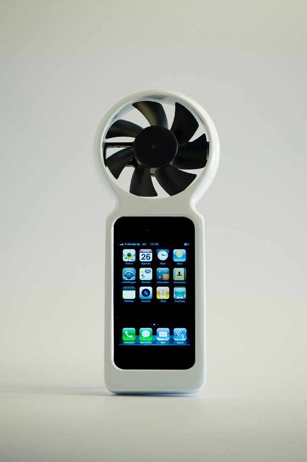 ifan iphone apple recharge wind green