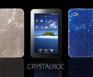 Crystalroc Bedazzles Your Galaxy Tab, Doesn'T Make the Tab Any More Interesting